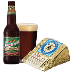 Leinies Creamy Dark and Gorgonzola