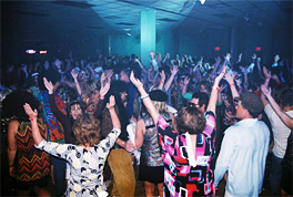 Crowd on the Dance Floor