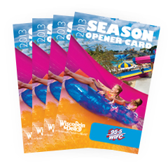 Dells Season Opener Card 4-Pack