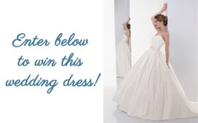 Wedding dress prize image