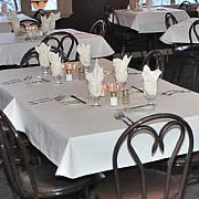 Pinewood Supper Club dinner tables