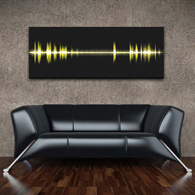 Epic Frequency wall art