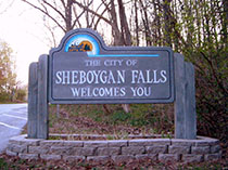 Sheboygan Falls sign