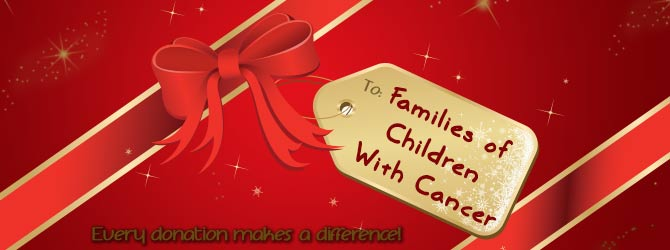 Families of children with cancer header image