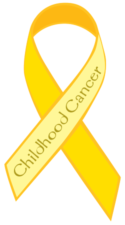 Gold Ribbon - Childhood Cancer