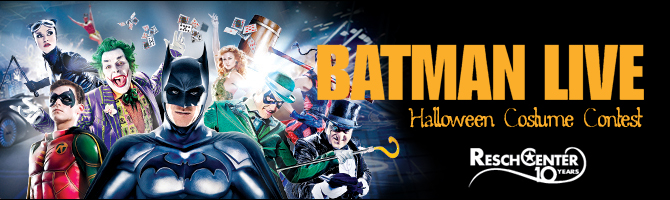 Batman Live Costume Contest Header