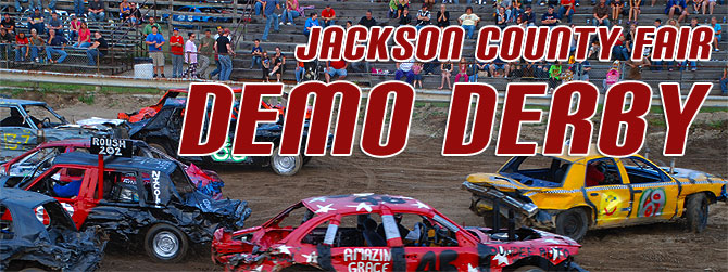 Jackson County Fair Demo Derby Banner