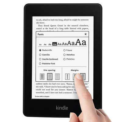 Kindle Paperwhite, 6 High Resolution Display with Built-in Light, Wi-Fi