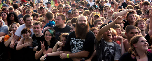 Crowd from last time Hollywood Undead was in Sioux Falls