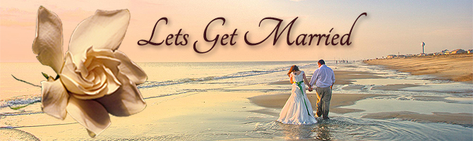Lets Get Married Banner