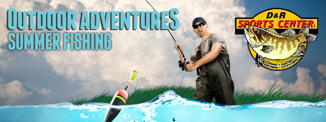 Outdoor Adventures Fishing Banner