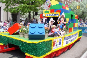 Tulip Time Festival Parade Float