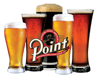 Point Beer in glasses