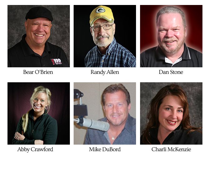 On Air Personalities Profile Pictures