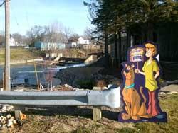 Scooby-Doo Ceresci Dam