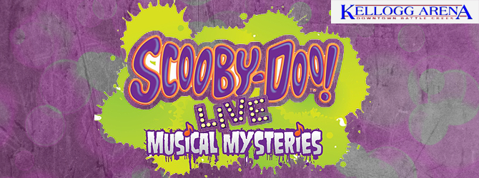 Scooby-Doo Live Musical Mysteries Banner