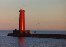 Sheboygan lighthouse image