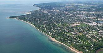 Sheboygan shoreline image