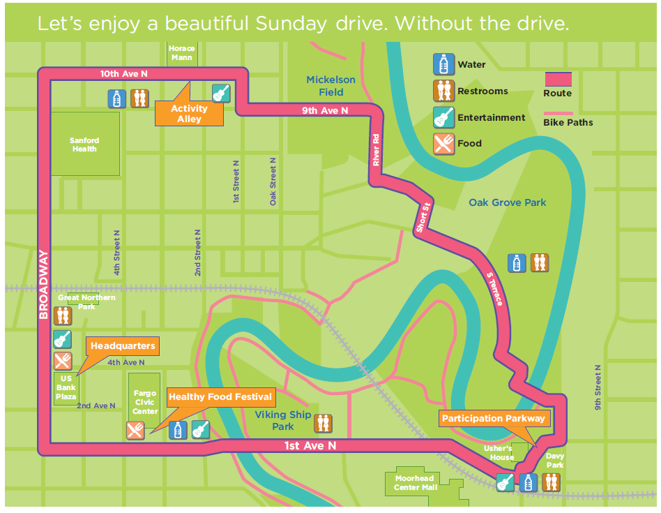 StreetsAlive Map
