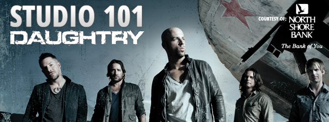 Studio 101 with Daughtry