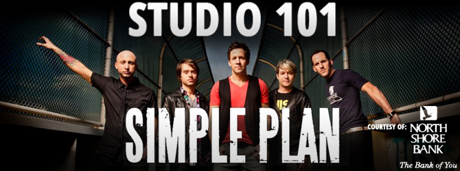 Studio 101 - Simple Plan