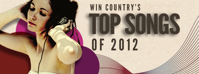 Top ten songs of 2012 banner