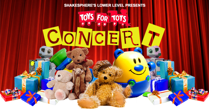 Toys For Tots Concert Banner