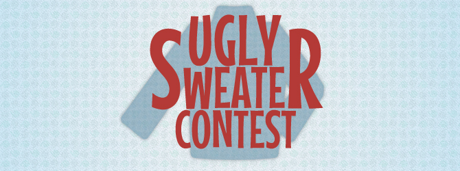 Ugly sweater contest image