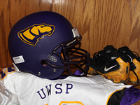UWSP football equipment
