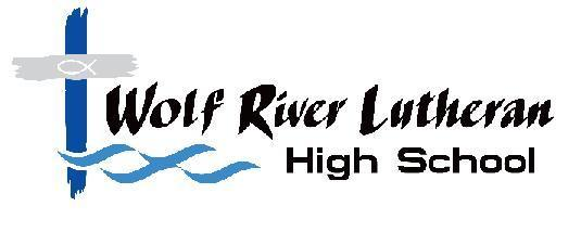 Wolf River Lutheran High Logo