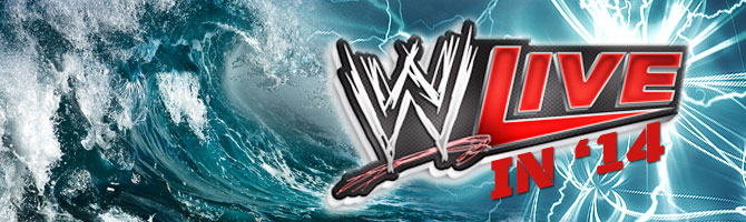 WWE Live 2014 Banner