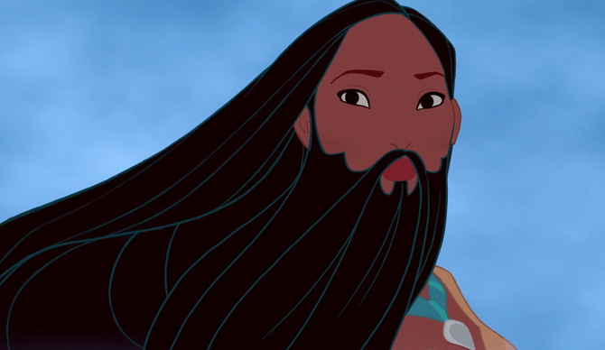 Disney Characters with Beards