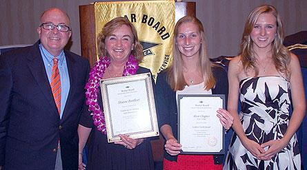 Hope Mortar Board Chapter and Advisor Earn National Awards