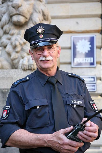 Image of German Police Officer