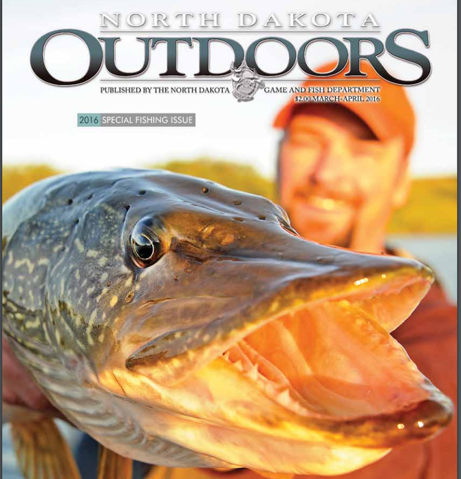 Have you seen special fishing issue of north dakota for Nd game and fish stocking report