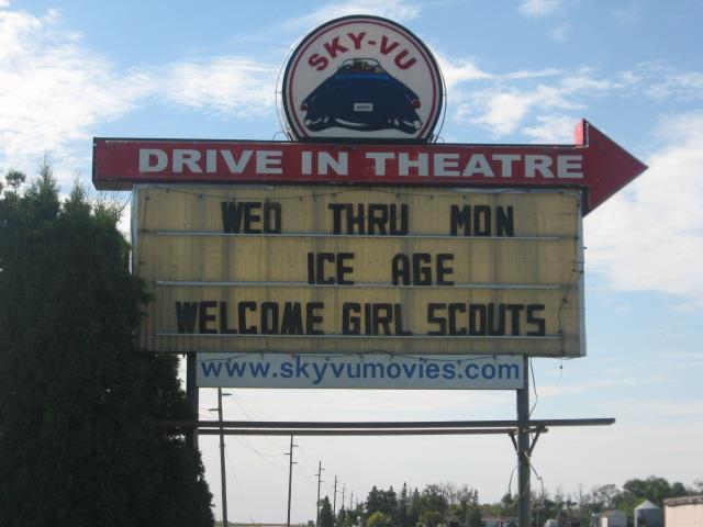 Drive In Movie Theater Warren Mn