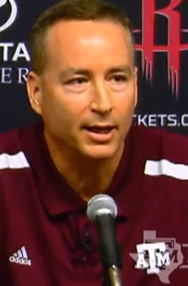 Texas A M Basketball Coach Billy Kennedy Is Just Cowardly