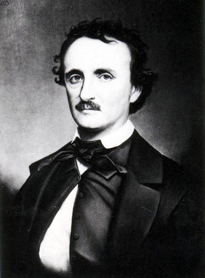 "A copy photograph of the portrait painted by Oscar Halling in the late 1860&squot;s of Edgar Allan Poe. Halling used the ""Thompson"" daguerreotype, one of the last portraits taken of Poe in 1849, as a model for this painting."
