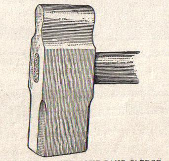 By M.T. Richardson, editor (Practical Blacksmithing, vol 1, p. 141