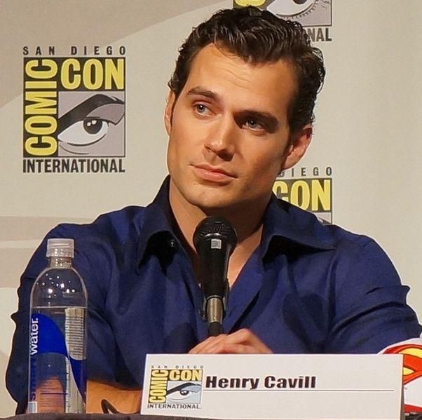 Henry Cavill at the Man of Steel panel at the 2013 San Diego Comic Con International on uly 20, 2013