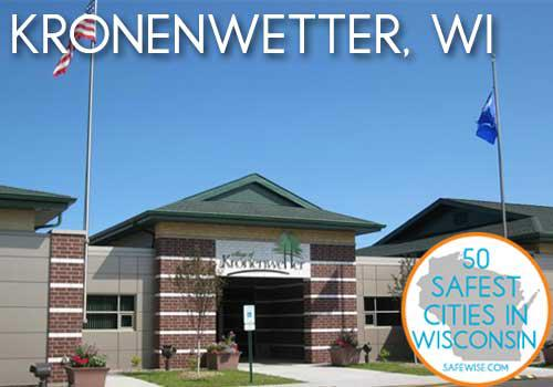 50 safest cities in WI