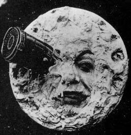 Screenshot from Le Voyage dans la lune (A Trip to the Moon) (1902)