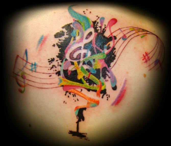 Gallery Symbols Music Tattoos Pictures 5019 Tattoo Free Download.