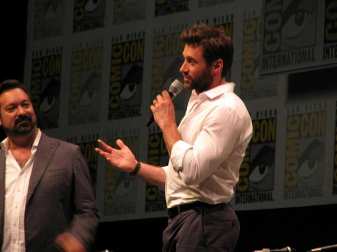 Hugh Jackman at SDCC 2013