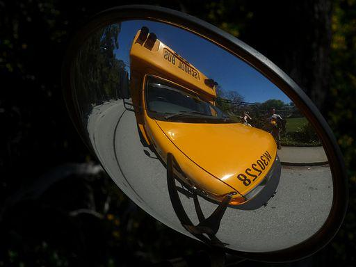 By Ingrid Taylar Flickr School Bus Reflection Cc By 2 0