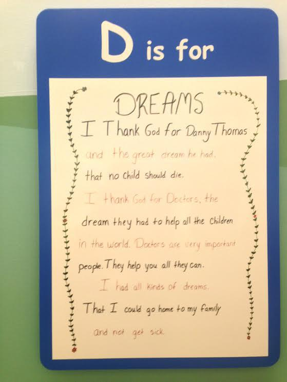 D is for Dreams