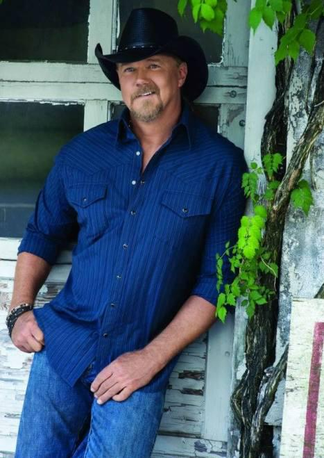 Trace Adkins was photographed in good spirits and looking great
