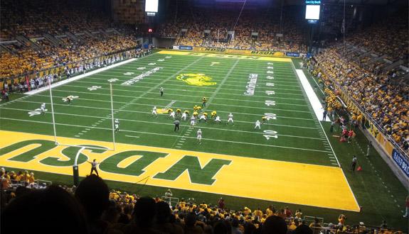 North Dakota State University Night at Target Field