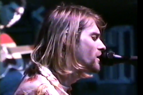 forum in december 1993 during the bands in utero tour kurt died in