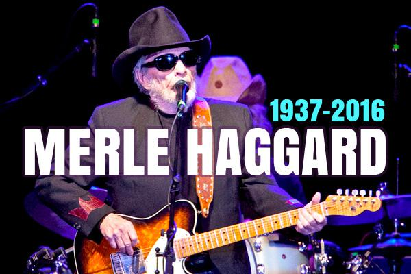 Fellow Stars Pay Tribute to Merle Haggard